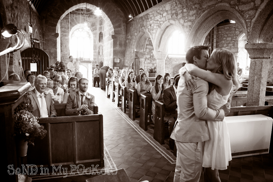 zennor head wedding