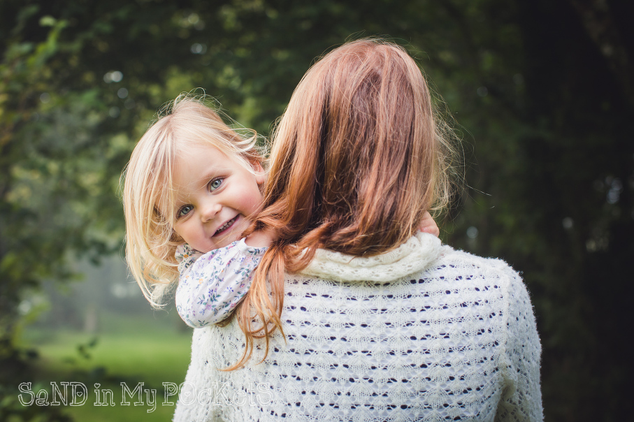 mother and daughter maternity and family photography devon