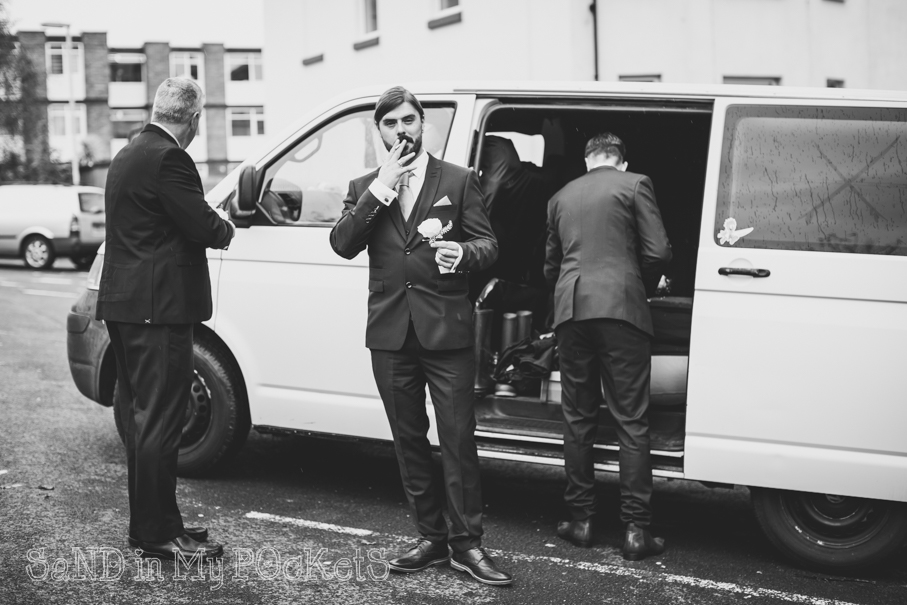 the best man has a cheeky fag plymouth registry office